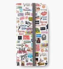 Musical Logos (Cases, Duvets, Books, Clothes etc) iPhone Wallet/Case/Skin