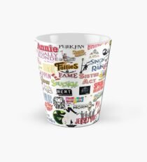 Musical Logos (Cases, Duvets, Books, Clothes etc) Tall Mug