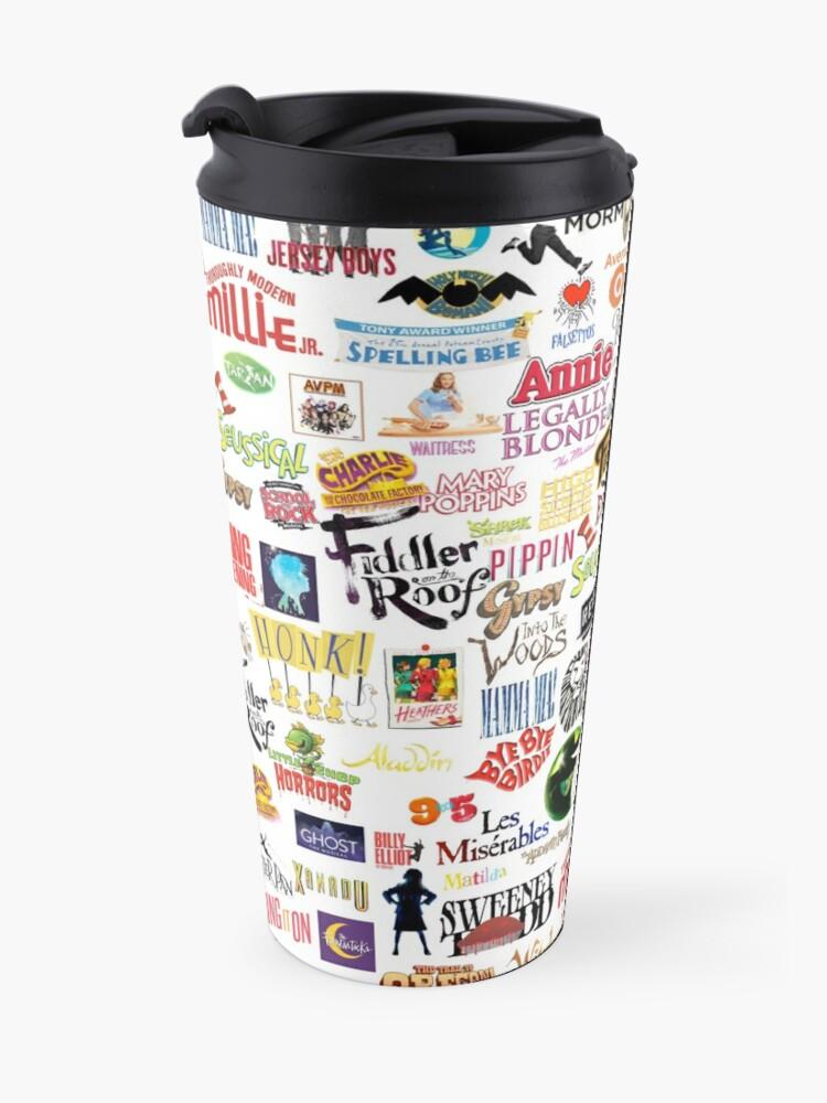 Alternate view of Musical Logos Travel Mug