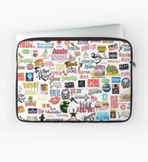 Musical Logos (Cases, Duvets, Books, Clothes etc) Laptop Sleeve