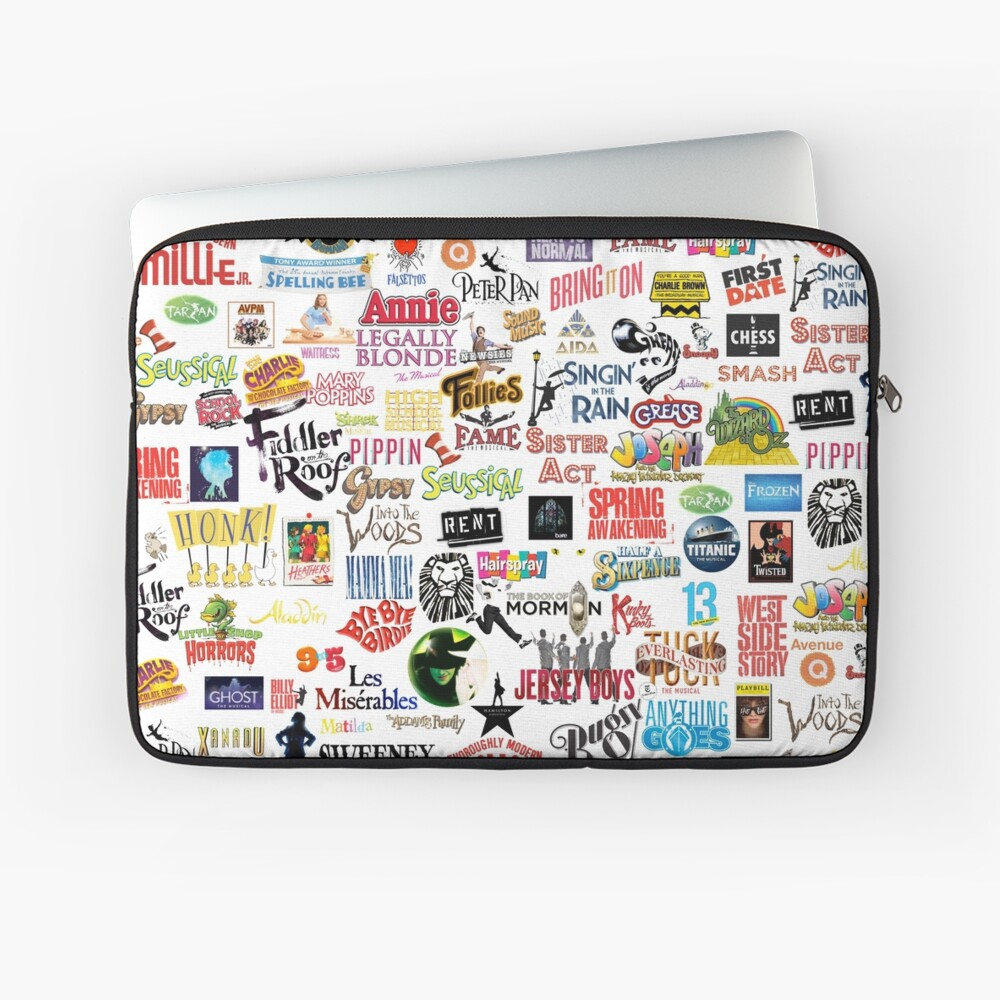 Musical Logos Laptop Sleeve