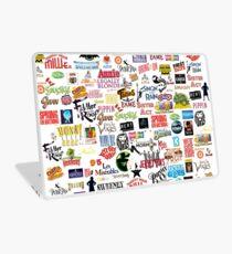 Musical Logos (Cases, Duvets, Books, Clothes etc) Laptop Skin