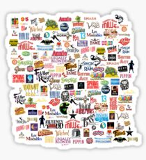 Musical Logos (Cases, Duvets, Books, Clothes etc) Sticker