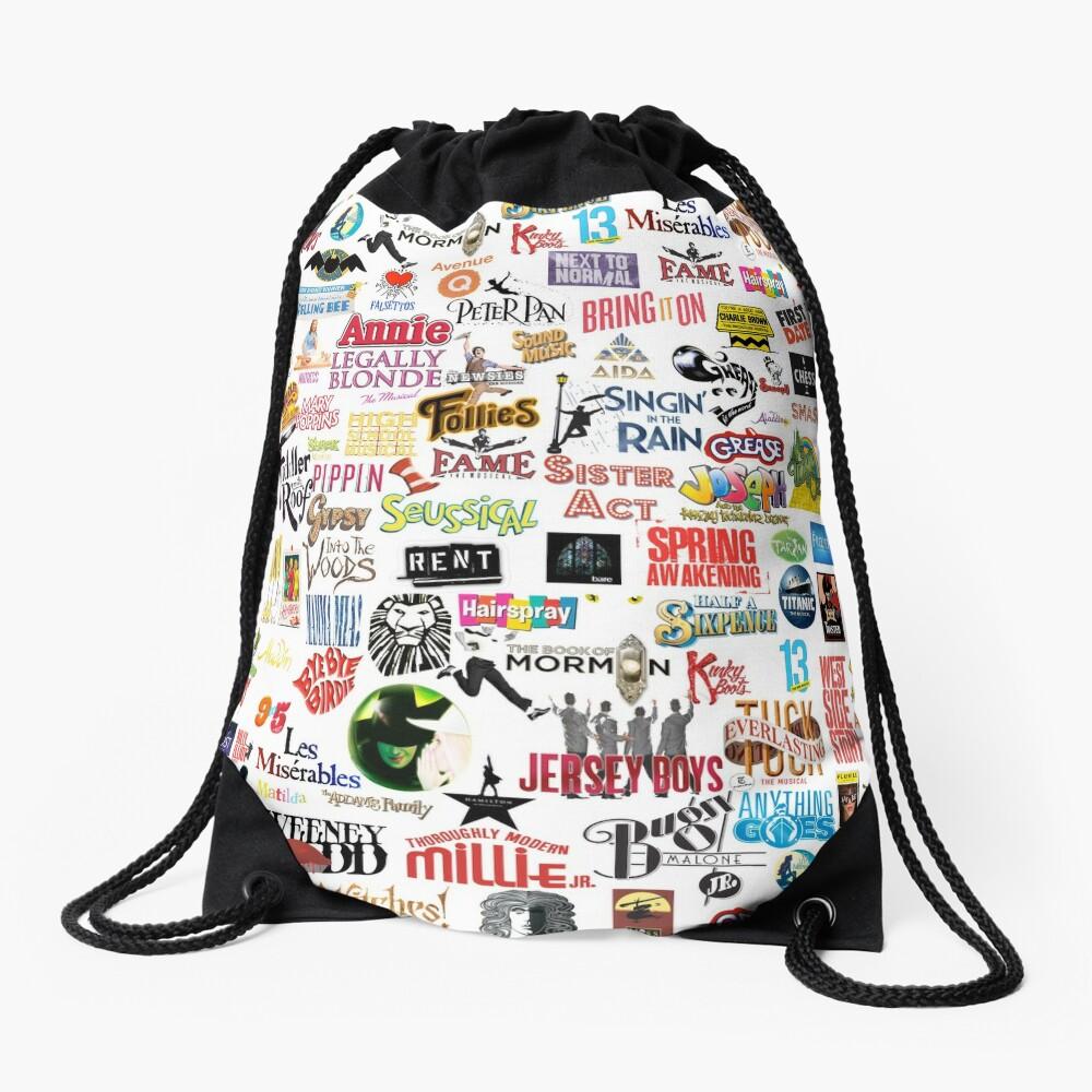 Musical Logos (Cases, Duvets, Books, Clothes etc) Drawstring Bag