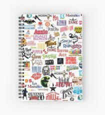 Musical Logos (Cases, Duvets, Books, Clothes etc) Spiral Notebook