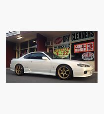 Nissan Silvia S15 Type R - Streetscape Photographic Print