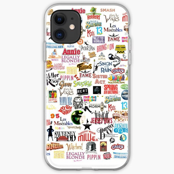 Musical Logos (Cases, Duvets, Books, Clothes etc) iPhone Soft Case