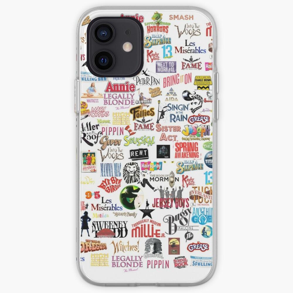 Coque iPhone «Logos musicaux»