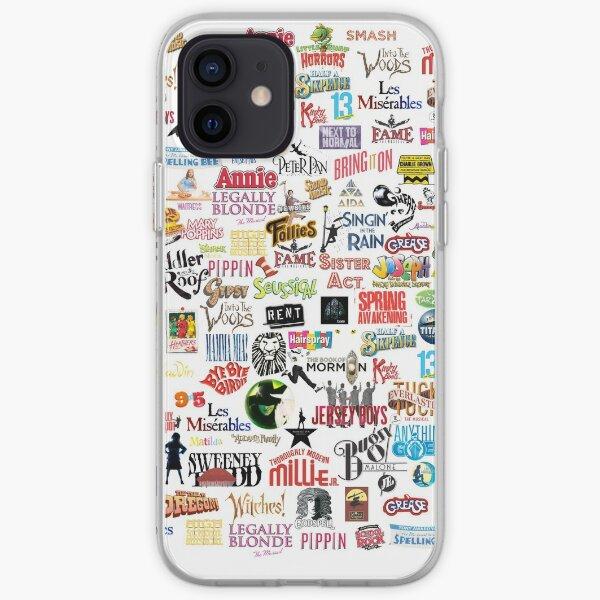 Logos musicaux Coque souple iPhone