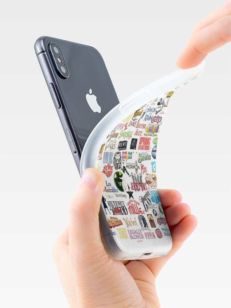 Coque iPhone ''Logos musicaux': autre vue