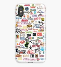 Musical Logos (Cases, Duvets, Books, Clothes etc) iPhone X Case