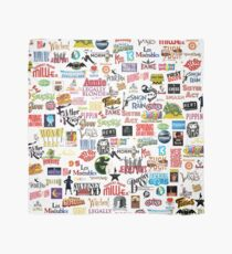 Musical Logos (Cases, Duvets, Books, Clothes etc) Scarf