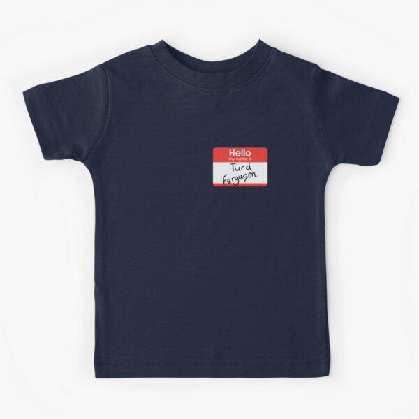 Turd Ferguson Kids T-Shirt