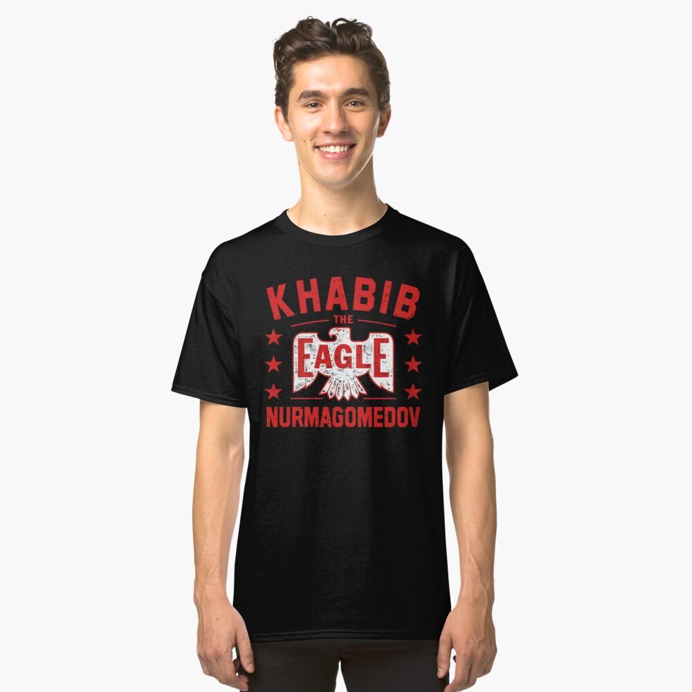 Khabib 'The Eagle' Nurmagomedov Classic T-Shirt Front