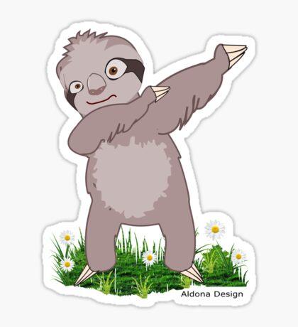 Sloth Dabs Sticker