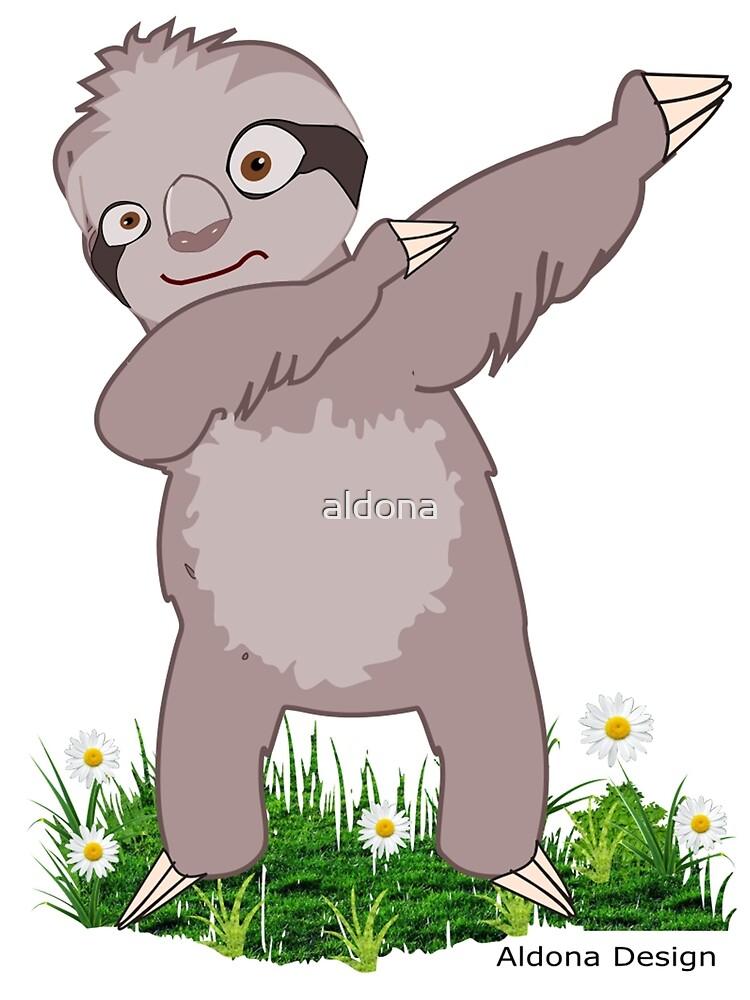 Sloth Dabs by aldona