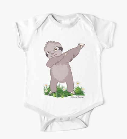 Sloth Dabs Kids Clothes