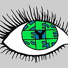 Yes Eye Set – Wordsquare by alannarwhitney