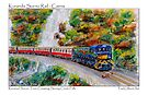 Kuranda Scenic Rail - Postcard by Paul Gilbert