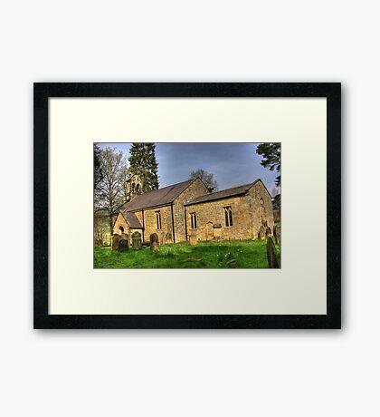 All Saints Church - Hawnby North Yorkshire #1 Framed Print