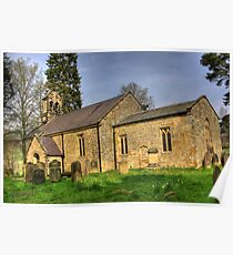 All Saints Church - Hawnby North Yorkshire #1 Poster