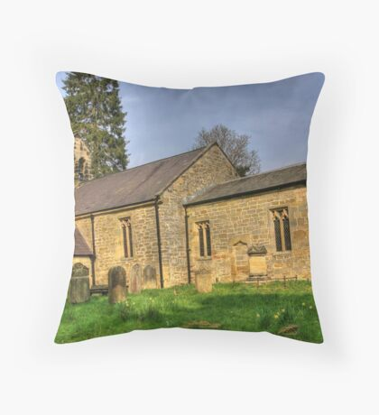 All Saints Church - Hawnby North Yorkshire #1 Throw Pillow