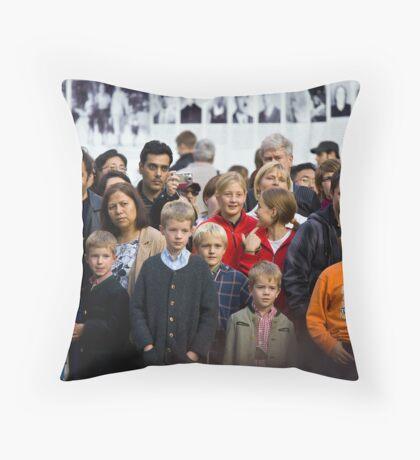 Mesmerised Throw Pillow