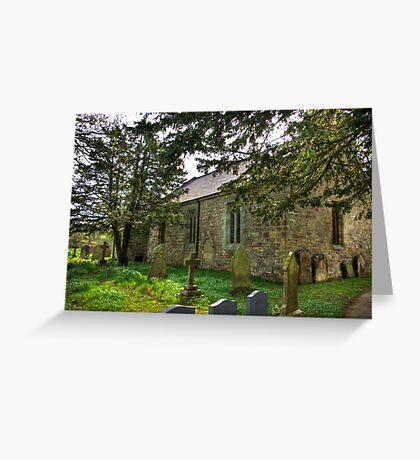 All Saints Church - Hawnby #3 Greeting Card