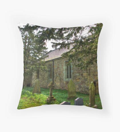 All Saints Church - Hawnby #3 Throw Pillow