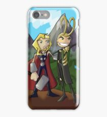 Asgardian Family Vacations iPhone Case/Skin