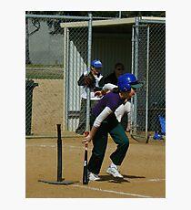 Saturday morning Softball Photographic Print