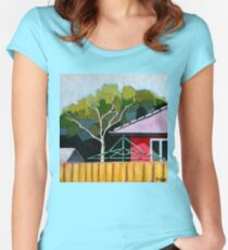 A Little Slice of Aussie Heaven Women's Fitted Scoop T-Shirt