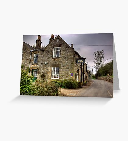 The Inn at Hawnby,North Yorkshire Greeting Card