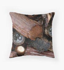Fungi Season 18 Throw Pillow