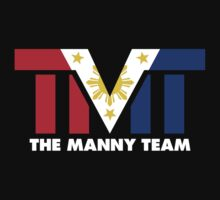 The Manny Team Filipino Flag TMT by AiReal Apparel | Unisex T-Shirt