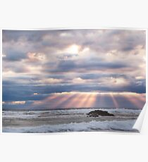 Light rays - Sorrento - Mornington Peninsula Poster