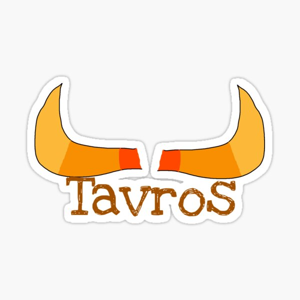 Tavros Horns With Text Sticker