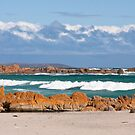 British Admiral Beach, King Island by Alexander Meysztowicz-Howen