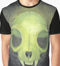 Green skull Graphic T-Shirt