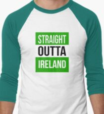 Ireland  Men's Baseball ¾ T-Shirt