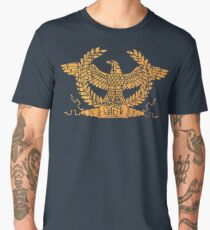 Roman Empire Flag Standard Men's Premium T-Shirt