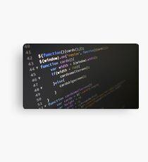 Programming Canvas Print