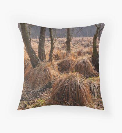 Sedge's cluster Throw Pillow