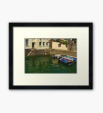 The Free Basin, Falmouth Framed Print