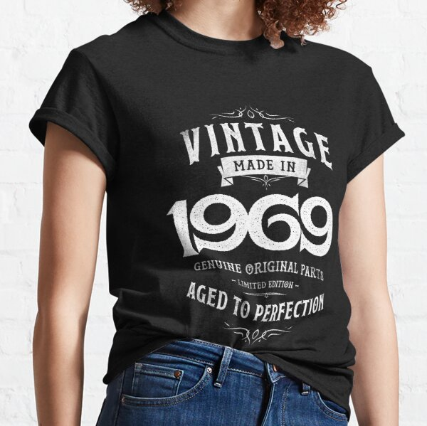 Made in 1960 to 1969 dads birthday sixties age t-shirt fathers day daddy