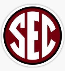 South Carolina Gamecocks SEC Logo Sticker