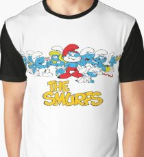 The Smurfs Graphic T-Shirt
