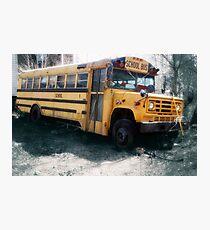 Appalachian School Bus  Photographic Print