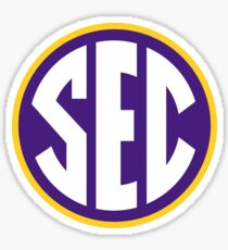 LSU Tigers SEC Logo Sticker