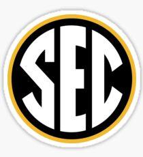 Missouri Tigers SEC Logo Sticker